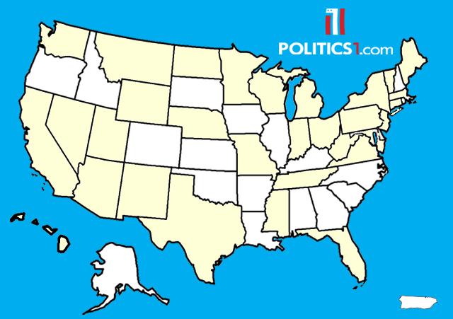 Politics Directory Of US Senate Candidates - Senate map us