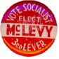 Mayor Jasper McLevy (Socialist) for Governor - 1934