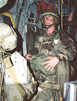 Jumpmaster in the C-130