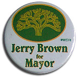 Jerry Brown for Oakland Mayor