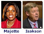 Majette and Isakson