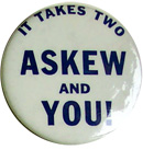 Reubin Askew for Governor / Jim Williams for Lt. Gov. - 1970