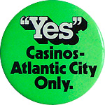 Yes Casinos - Atlantic City - 1978