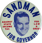Charlie Sandman for Governor - 1973