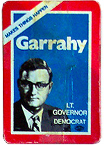 Joe Garrahy for Lt Governor