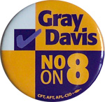 Gray Davis for Governor - 1974