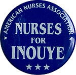 Nurse for Senator Dan Inouye