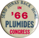 Plumides for Congress - 1966