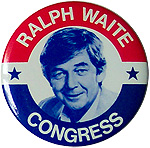 Ralph Waite (Pa Walton) for Congress