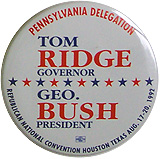 Tom Ridge & George HW Bush 1992