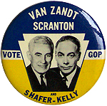 Bill Scranton for Governor - Jim Van Zandt for US Senate - 1962